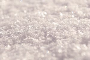 Snow texture outdoors