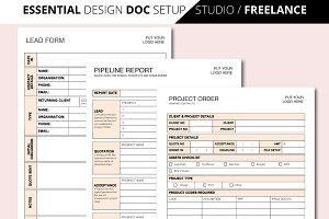 A4 ESSENTIAL DESIGN BUSINESS DOCS