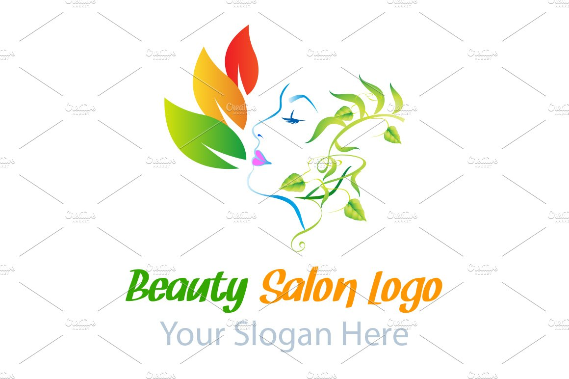 Beauty Salon Logo Templates Creative Market