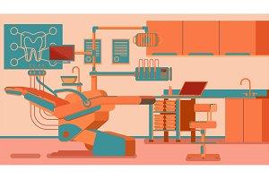 Dentist Office illustrations