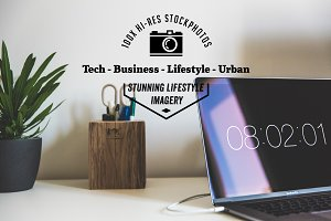 100x Creative Office Business Urban