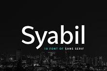 Syabil&#x3B; Sans Serif Font