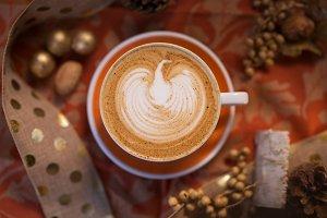 Seasonal Coffee Beverage 2