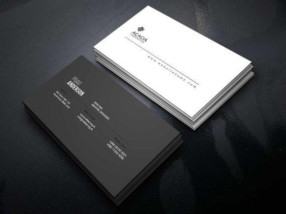 D-9 Business Card