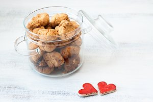 Cookies and heart