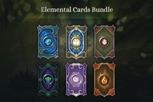 Elemental Cards Bundle