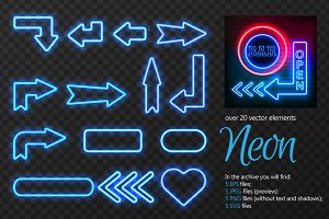 Neon Vector Signs