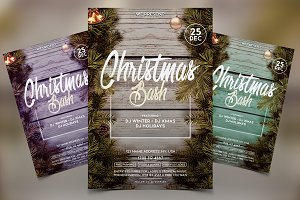 Christmas Bash - Winter PSD Flyer