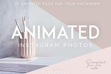 ANIMATED PHOTOS. BLOGGER BUNDLE.