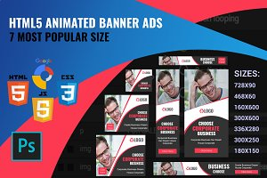 HTML5 Animated Banner Ads
