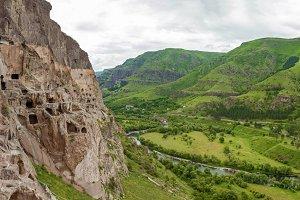 cave monastery Vardzia Georgia