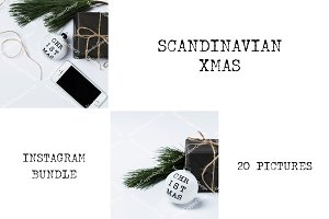 "Instagram Bundle ""Scandinavian XMas"""