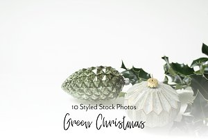 Green Xmas | Styled Stock Bundle