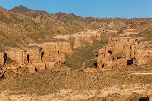 nature of Kazakhstan Charyn Canyon