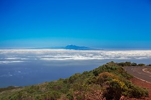 Tenerife view from La Palma