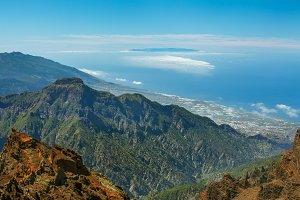 El Hierro view from La Palma