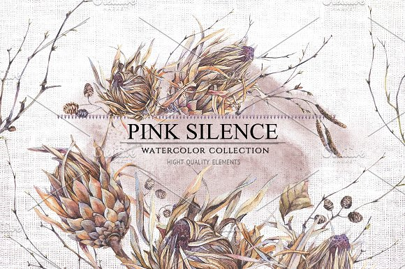 Pink Silence-Graphicriver中文最全的素材分享平台