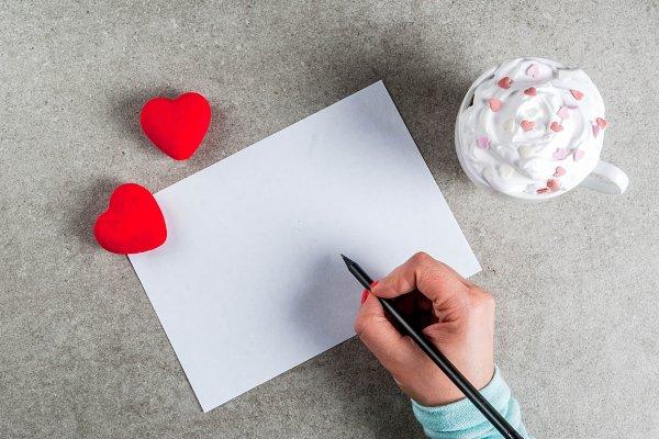 Romantic Valentine's day concept