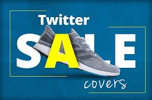 Twitter Sale Cover (PSD) by Zoran Maric in Twitter
