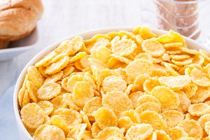 Corn Flakes on Breakfast