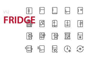 40  Fridge UI icons