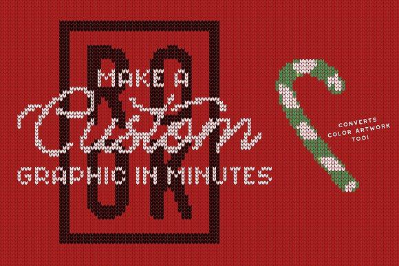 Christmas Sweater Effect Pro