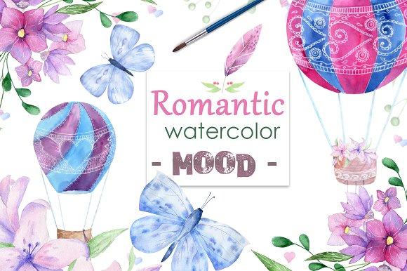 Romantic mood Watercolor Lo-Graphicriver中文最全的素材分享平台