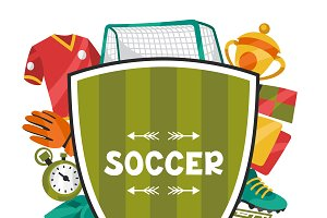 Soccer backgrounds.