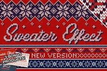 Christmas Sweater Effect Pro