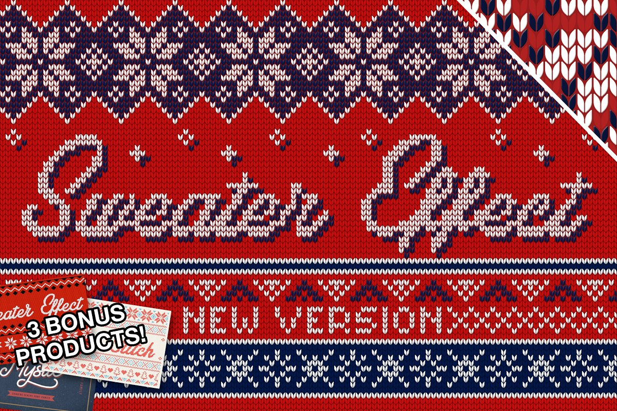 3b5ad58c6 Christmas Sweater Effect Pro ~ Actions ~ Creative Market