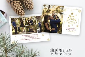 Christmas Card Template 003