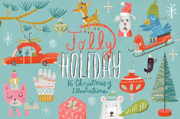 Jolly Holiday-Graphicriver中文最全的素材分享平台