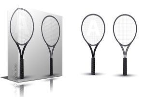 Tennis Rackets Vectors