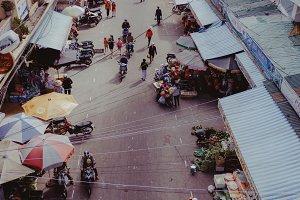 Dalat Market.