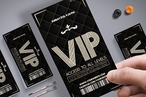 Luxury VIP Pass Card