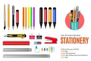 Sale! Realistic Stationery Set