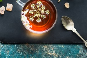 Cup of fennel tea