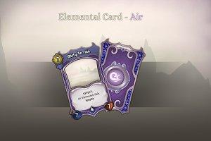 Elemental Card - Air