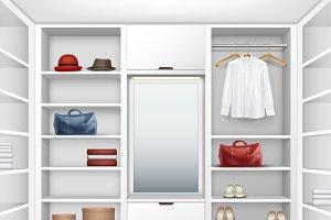 Cloakroom closet