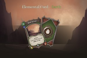 Elemental Card - Earth