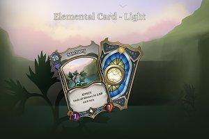 Elemental Card - Light