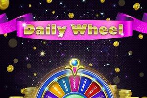 Casino Daily Wheel Set