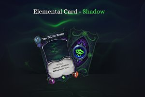 Elemental Card - Shadow