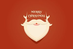 Santa Claus beard