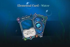 Elemental Card - Water