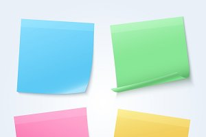 Color sheets paper set