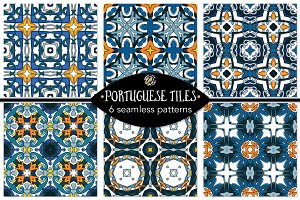 Set 101 - 6 Seamless Patterns