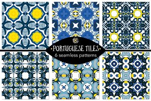 Set 102 - 6 Seamless Patterns