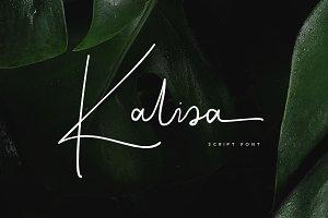 Kalisa Signature Font