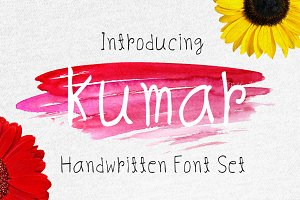 Kumar Handy Font Set